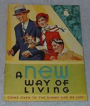 A new Way of Living Kellogg Recipe Cookbook 1932 Kellogg - $5.00