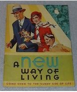 A new Way of Living Kellogg Recipe Cookbook 1932 Kellogg - $5.00