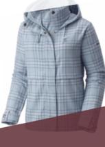 BNWT Columbia Sugar Creek™ EXS Women's Short Trench, Size XS, Light blue... - $39.50