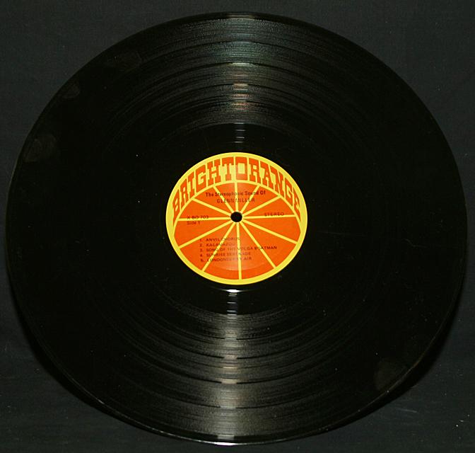 "Glenn Miller  ""The Stereophonic Sound Of""  Bright Orange Records X-BO-703   LP"