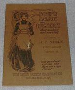 Soups Salads and Desserts Recipe Cookbook Harvard Illinois 1908 - $19.95