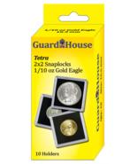 2x2 One Tenth Oz AGE Tetra - 10 per pack - $7.25