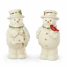 New in Box  Lenox Snowman 2019  Salt & Pepper Set - $29.65