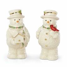 New in Box  Lenox Snowman 2019  Salt & Pepper Set - $29.65