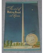 Vintage The Art of Making Bread at Home, Recipe Cookbook 1939 - $5.00