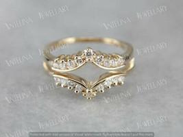 2.50Ct Round Diamond Enhancer Engagement Women's Ring In 14K Yellow Gold... - $108.45