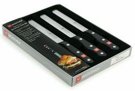 Brand NEW Wüsthof Gourmet 4 Piece No Stain Steel Burger Knife Set Germany NIB image 5