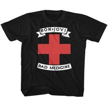 Bon Jovi Bad Medicine BL Youth T Shirt 2T-YXL Rock Music - $17.58