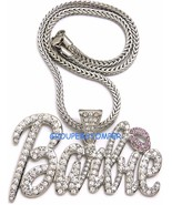 Barbie Collier Neuf Glacé Pendentif Style Chaîne Tailles Assorties - $14.99+