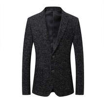 "2018 spring new style men""s fashion casual blazers men coats jacket clas... - $107.50"