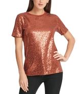 Dkny Sequin Crewneck T-Shirt - $31.50