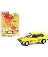 """1974 Volkswagen Golf Mk1 \""""Pirelli\"""" Yellow with Red Stripe \""""Hartetest ... - $14.00"""
