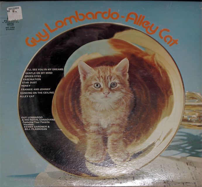 Guy lombardo  alley cat   cover