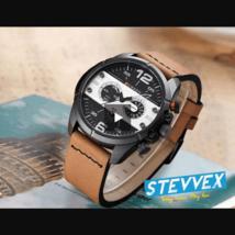 Men's Curren Waterproof Retro Style Watch With Matte Wallpapers - $55.00+