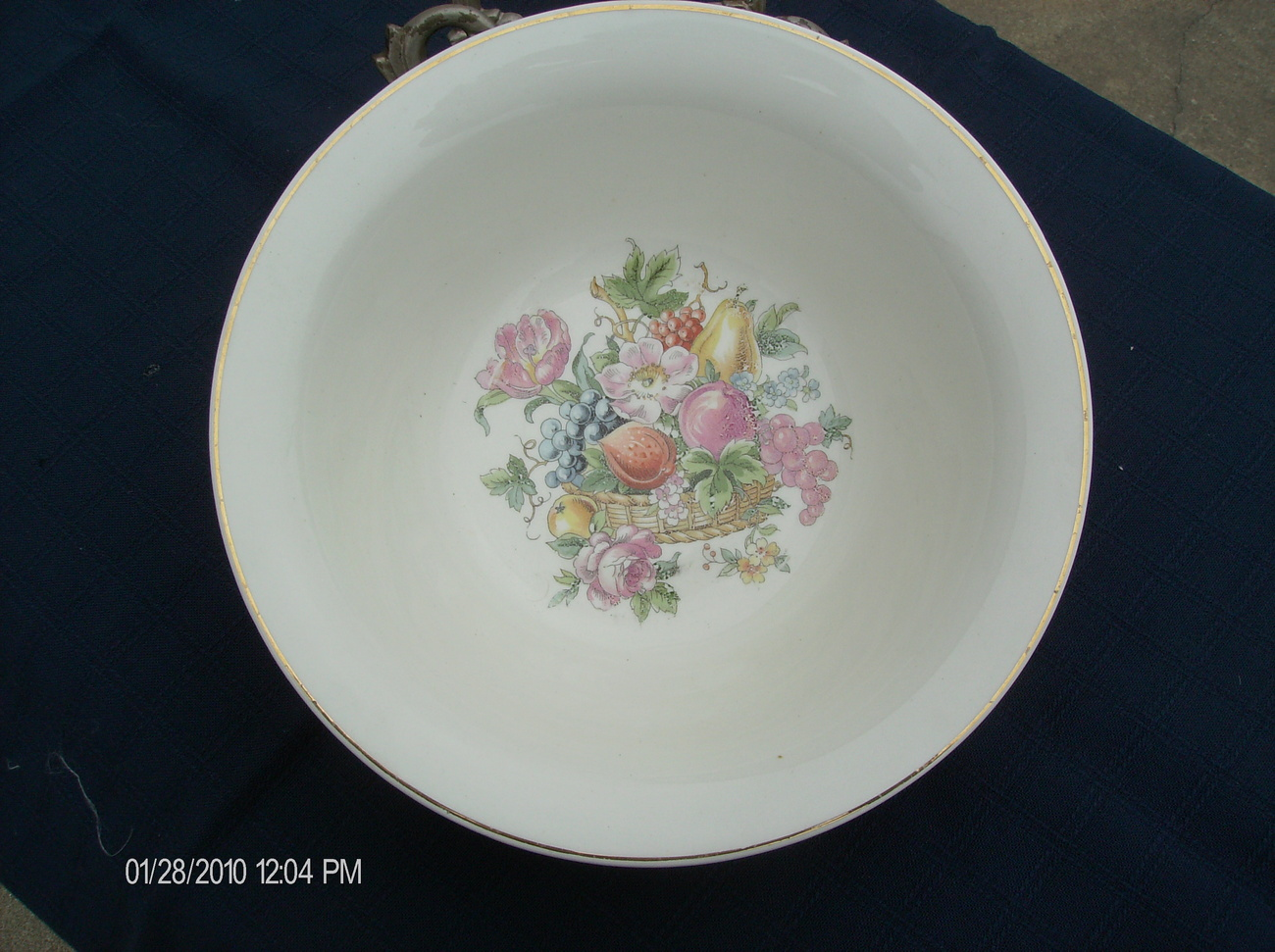"Harker ""Bakerite"" China Salad Bowl 1930"