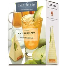 Tea Forte White Ginger Pear Iced Tea - White Tea - 8 x 5 Infusers - $112.31