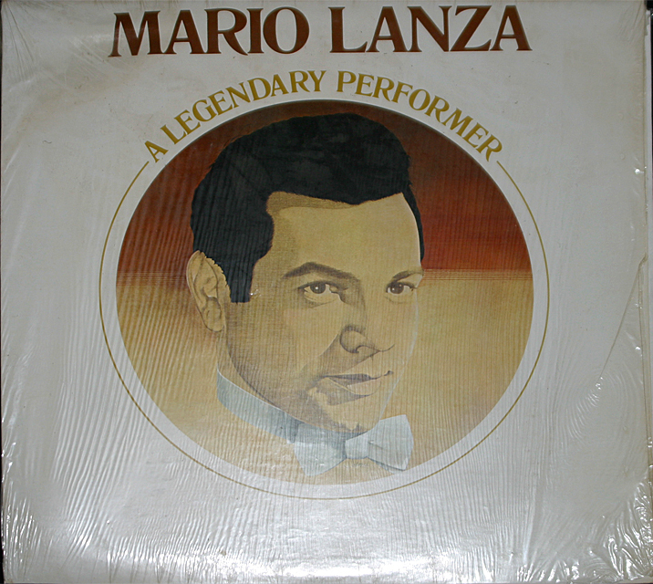 Mario lanza  a legendary performer   cover