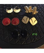 Vintage Clip Earrings - Lot #16 - $17.82