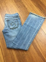 Silver Jeans Women's Sz 28x31 SPECTRUM 5 Pocket Medium Wash Blue Jeans - $17.59