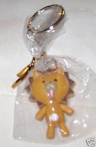 "BLEACH ANIME KEY CHAIN 2"" KON CHIBI FROM JAPAN NEW!"