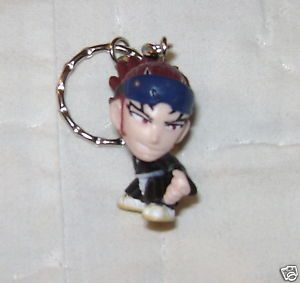 BLEACH KEYCHAIN ABARAI RENJI KEY CHAIN FROM JAPAN NEW!
