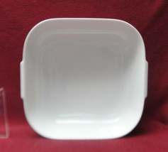 "ROSENTHAL China - HELENA Pattern (all white) - 9"" Square SERVING BOWL - $48.95"