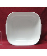 """ROSENTHAL China - HELENA Pattern (all white) - 9"""" Square SERVING BOWL - $48.95"""