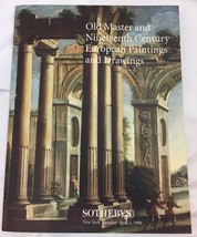 Sothebys Old Masters 19th Century European Paintings Drawings 4.2.96 Cat... - $24.18