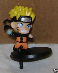 NARUTO SUPER DEFORMED RASENGEN FIGURE WITH STAND CHIBI