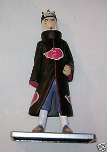 "NARUTO AKATSUKI ANIME MANGA 4"" FIGURE WITH STAND NEW"