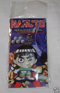 NARUTO ANIME CHIBI KEYCHAIN KEY CHAIN ROCK LEE NEW