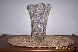 Anchor Hocking EAPC Star of David Large Vase - $10.83