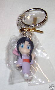 RUROUNI KENSHIN ANIME KEY CHAIN CHIBI KOARU NEW SD
