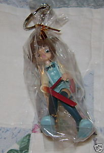 CARD CAPTOR SAKURA KINOMOTO SITTING KEY CHAIN JAPAN