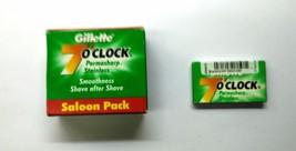 Shaving Razor Blades  Gillette 7'o Clock Permasharp Stainless  50 Blades - $12.67