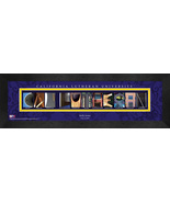 Personalized California Lutheran University Campus Letter Art Framed Print - $39.95