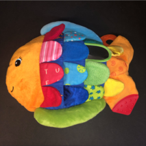 Melissa & Doug K's Kids Flip Fish Baby Plush Sensory Educational Learning Toy - $9.99
