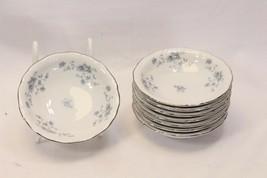 "Johann Haviland Blue Garland Fruit Bowls 5.25"" Bavaria Lot of 8 - $35.23"