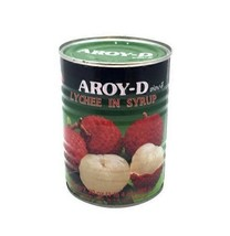 Aroy D Lychee In Syrup 20 Oz Can (Pack Of 6) - $87.12