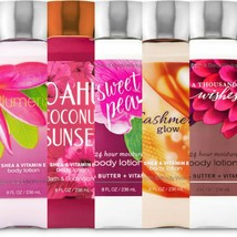 BATH AND BODY WORKS BODY LOTION 8 OZ  FULL SIZE YOU CHOOSE SCENT!! - $11.39