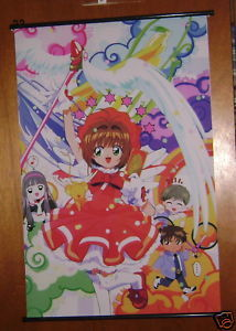 CARD CAPTOR SAKURA ANIME MANGA WALL SCROLL NEW 24 X 36""