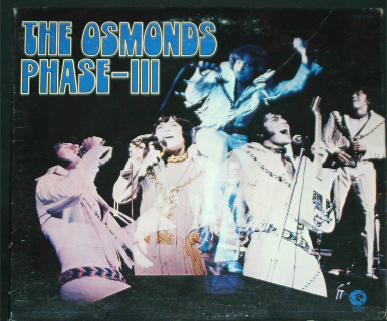 Osmonds  phase lll   cover