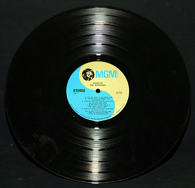 "The Osmonds  ""Phase-lll""   LP"