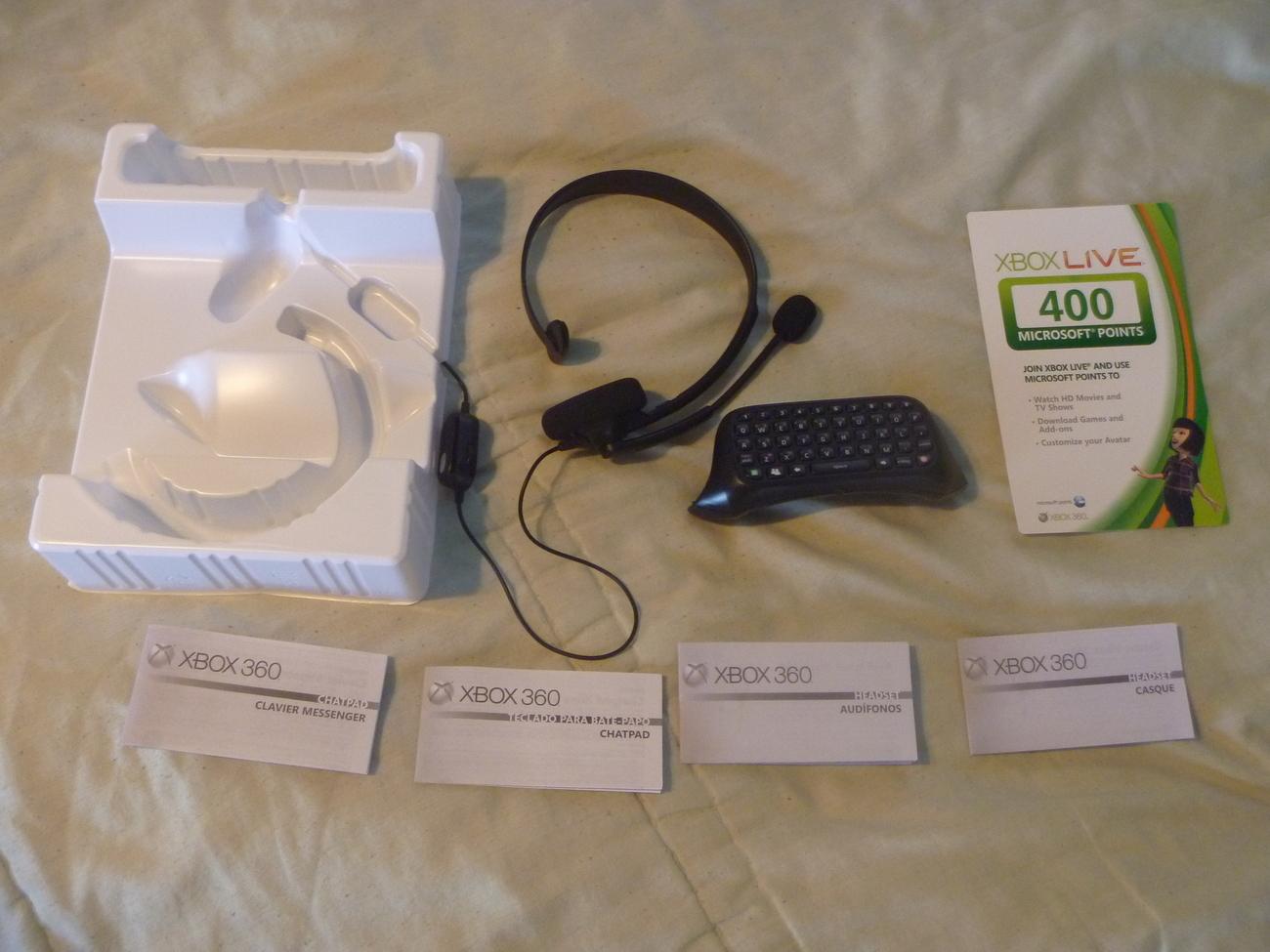 XBOX 360 - XBOX Live C...