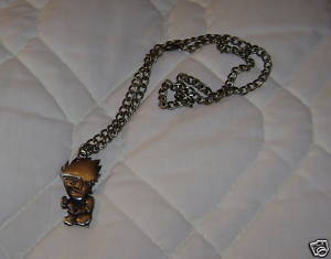 "NARUTO ANIME 20"" NECKLACE KAKASHI FIGURE PENDANT NEW"