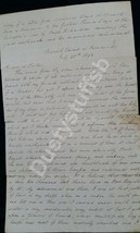 Handwritten Copy of 1st Hand Account of the Catastrophic 1692 Earthquake... - $1,382.50