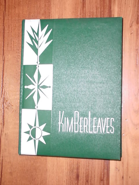 Vintage 1960 Kimberleaves Yearbook - No Writing!