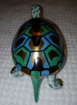 Herend Hungary Turtle Green  Porcelain   - $210.00