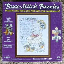 Hobbico A True Friend Jeannette Crews Faux-Stitch Jigsaw Puzzle 500 Pcs ... - $9.50