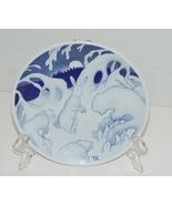 "Porsgrund Norway Porcelain Plate, ""The Frightened Hare"" by Theodor Kitt... - $9.99"